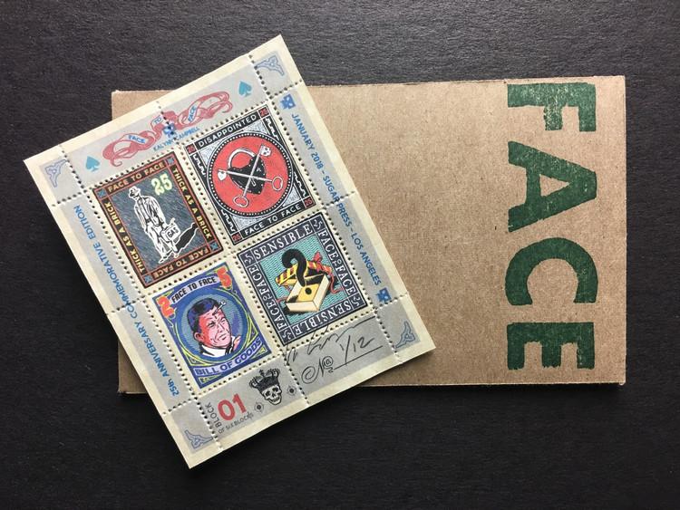 Commemorative Stamp Set - Block 1 - by Kalynn Campbell
