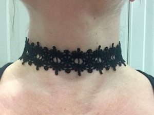 Black Lace Choker #1