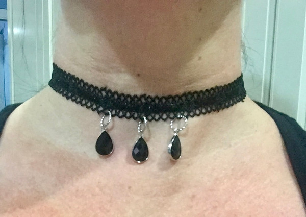Black Lace Choker #5