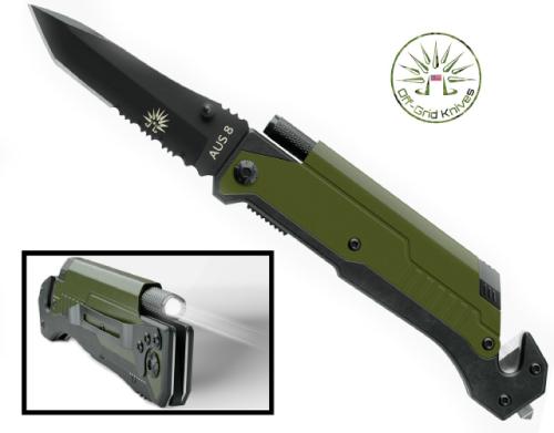 Flashlight Knife