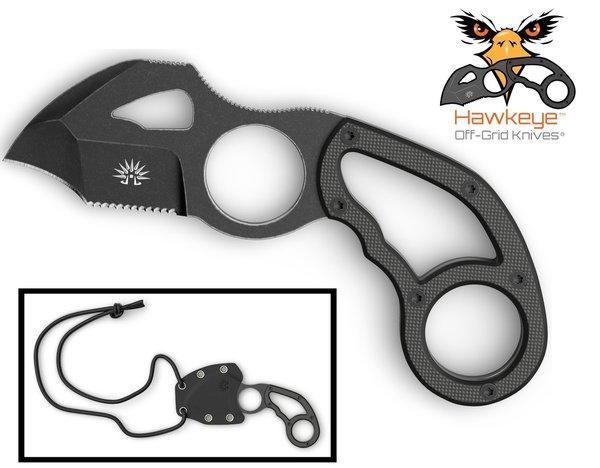 hawkeye camping neck knife