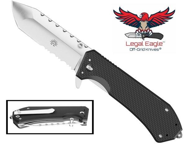 legal eagle flipper knife