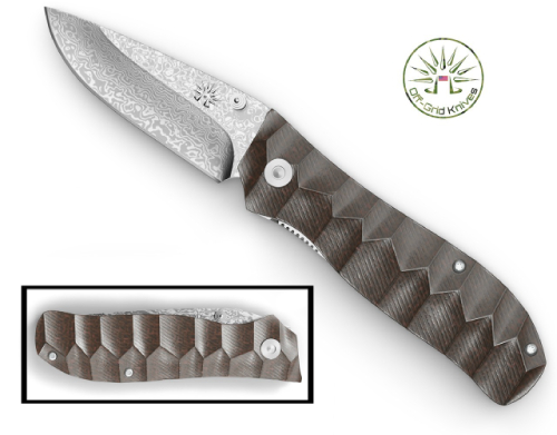 Textured Knife Handle