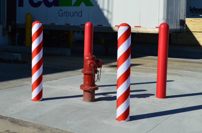 Add a Little Holiday Hype to Your Bollard Pipes