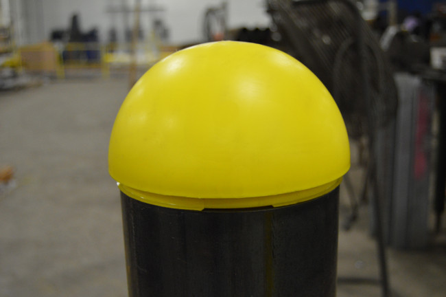Cap it Off: Dome Top and Flat Top Bollard Caps Available
