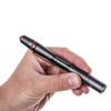 Match pen is easy to carry Takes AAA batteries Shock resistant Creates light for color matching Similar to sunligth