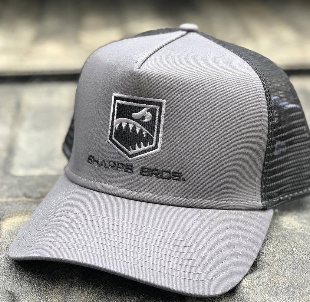 Hat (Black/Charcoal) - Trucker