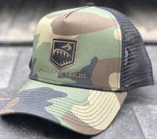 Hat (Camo/Blackl) - Trucker