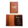 Passport Sleeve: Adventure Awaits  Camel