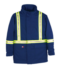 Big Bill M305NEX FR CAT 4 High Visibility Quilted Parka
