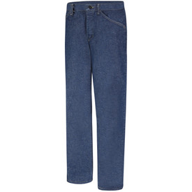 Bulwark PEJ3 Women's CAT 2 Denim 5 Pocket Pre Washed Jean