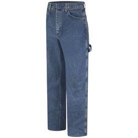 Bulwark PEJ8 FR CAT 2 Denim 14.75 oz Pre Washed Dungaree