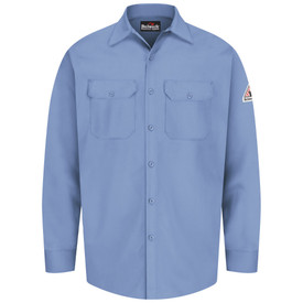 Bulwark 7 oz FR Cotton Button Front CAT 1 Work Shirt