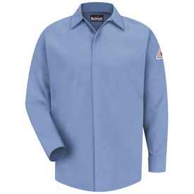 Bulwark SMS2 FR Long Sleeve CAT 2 Pocketless Work Shirt