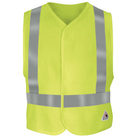 Bulwark VMV4 FR Hook and Loop CAT 2 Hi Viz Class 2 Vest