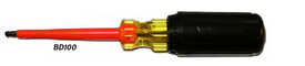Cementex Insulated Hex Ball Tip Made in USA Screwdriver