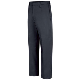 Horace Small Women's 4 Pocket Officer Pants - Front View of Dark Navy Work Trousers with 2 Single-Welt Back Hip Pockets, belt loops and a crease on each leg.