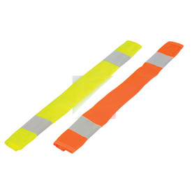 ML Kishigo 2 Stripe Hook and Loop Hi-Viz Seat Belt Covers