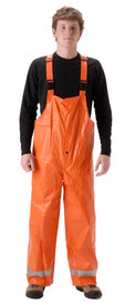 NASCO's ArcLite 1101TBO Orange FR CAT 2 Utility Rain Overall
