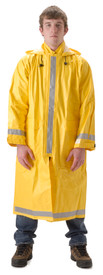 NASCO ArcLite 1000 Yellow FR CAT 2 Utility Long Rain Coat