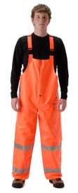NASCO 1501TFO ArcLite FR CAT 1 Hi-Viz Orange Rain Overalls