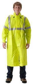 NASCO 1503CFY ArcLite ANSI 3 FR CAT 1 Yellow 48 In Rain Coat