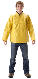 NASCO WorkTrack Lightweight Yellow Waist Length Jacket