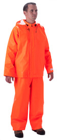 NASCO 4001JFO Sentinel FR CAT 2 APTV 14 Orange Rain Jacket