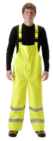 NASCO 4501TFY Sentinel FR CAT 2 High-Viz Yellow Rain Overall