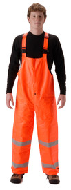 NASCO 4501TFO Sentinel FR CAT 2 High-Viz Orange Rain Overall