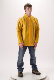 NASCO WorkHard 60JSY Durable Waist Length Waterproof Jacket