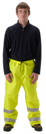 NASCO WorkLite 81PFY455 Hi Viz ANSI Class E Rain Pants