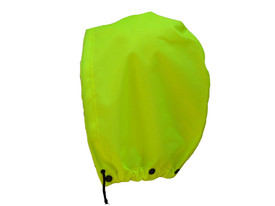 NASCO WorkLite Hi Viz Detachable Hood -  Green rain hood