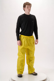 NASCO WorkLite 81PY117 Lightweight 4.5 oz Yellow Rain Pants