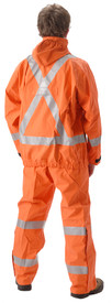 NASCO PetroLite 9003JBO245 FR CAT 2 Orange Rain Jacket