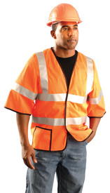 Occunomix LUX-HSCOOL3 Class 3 Mesh 1 Pocket Safety Vest