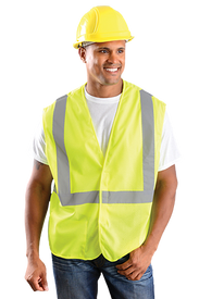 Occunomix Class 2 Mesh 2 Inch Tape HV Yellow Safety Vest