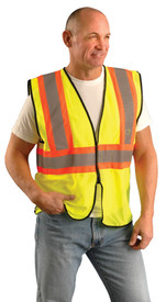 Occunomix ECO-GC2T Hi-Viz Class 2 Mesh 2 Tone Safety Vest