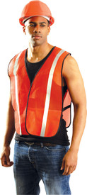 Occunomix NON-ANSI Mesh 1 Inch Reflective Tape Safety Vest