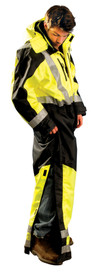 Occunomix SP-CVL Class 3 Winter Insulated Hi-Viz Coverall