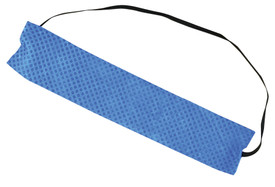 Occunomix Miracool Sweatbands - Occunomix Blue sweat absorbing rectangular shaped forehead towelette