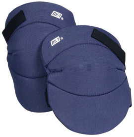 Occunomix Fabric Hook & Loop Knee Cap - Occunomix Blue fabric padded knee cap covers with back hook & loop straps