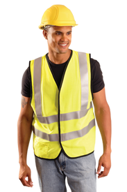 Occunomix Class 2 FR CAT 1 Solid Hook & Loop Safety Vest