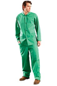 Occunomix MIG101V FR CAT 1 Green Welding Jacket