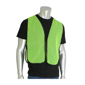 PIP 300-0800 Non-ANSI Hi-Viz Mesh Hook & Loop Safety Vest
