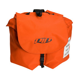 PIP Orange Arc Flash ARC Apparel Water Resistant Back Pack - Orange water resistant clip closure backpack with large main pouch.