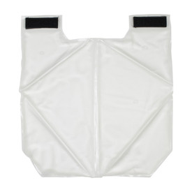 PIP Replacement Cooing Vest Packs - Close up of white replacement cooling packs for use in thermal cooling safety vests with Velcro.