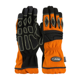 AutoX 911-AX9P Kevlar Extreme Heat Fire Extrication Gloves