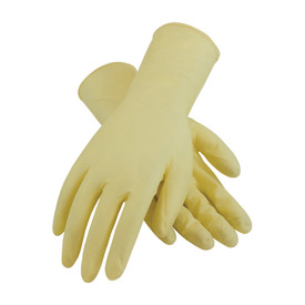 PIP 100-323000 Powder Free Latex 12 In 7 mil Textured Gloves