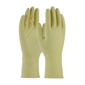 PIP 100-323010 Powder Free Latex 12 In 7 mil Textured Gloves